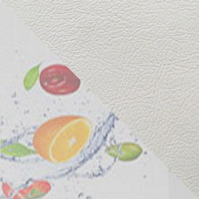 Белый глянец (фрукты) / Белый к/з 124