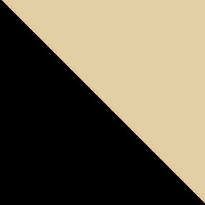 Черный, ротанг / Бежевый, ткань