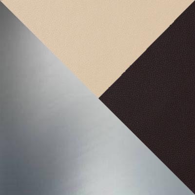 Nitro Cream, Вставка Nitro Brown, иск. кожа / Каркас Нержавеющая сталь