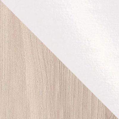 Ясень Шимо Светлый / Белый глянец