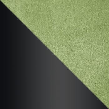HLR-54 Травяной, велюр / Черный матовый