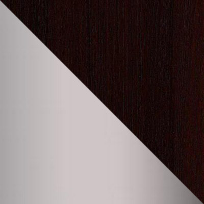 Металлик / Темно-коричневый
