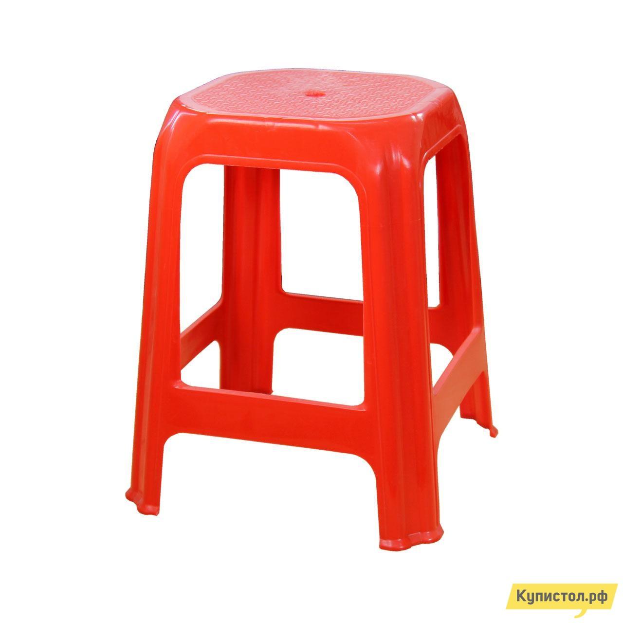 Пластиковый табурет АТР Стул (табурет) Красный от Купистол
