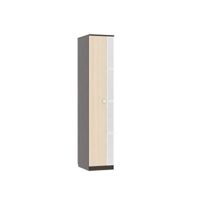 Шкаф распашной Мебельсон Гармония Шкаф 1-створчатый Венге / Дуб млечный