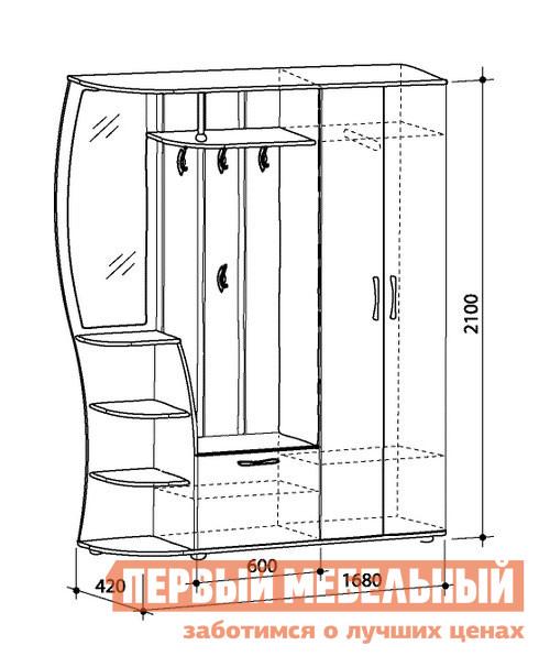 Мебель в прихожею чертежи и схемы 3