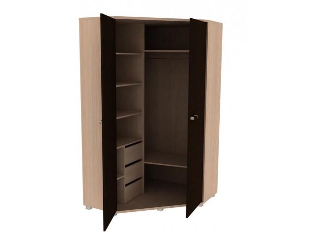 Шкаф распашной шкаф-1 карамель мебельсон купить в москве и с.