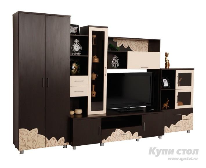 Шкаф-витрина Оливия шкаф малый КупиСтол.Ru 7790.000
