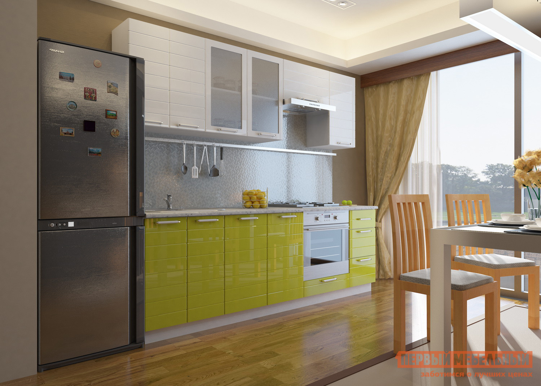 Кухонный гарнитур Мебельсон Виктория 240 (2) кухонный гарнитур трия ассорти вишня 2 240 х 210 см