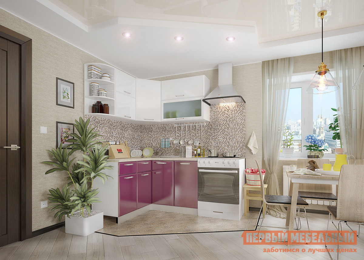 Кухонный гарнитур угловой Мебельсон Яна К2