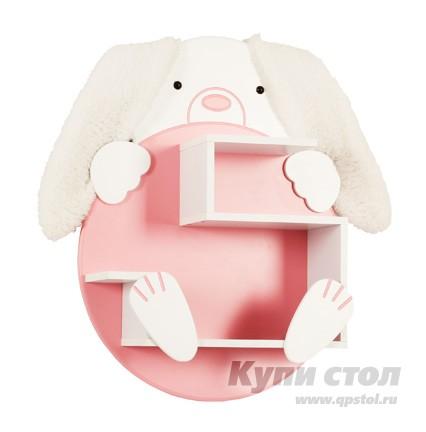 Полка детская Зайка (Полка навесная) КупиСтол.Ru 3510.000