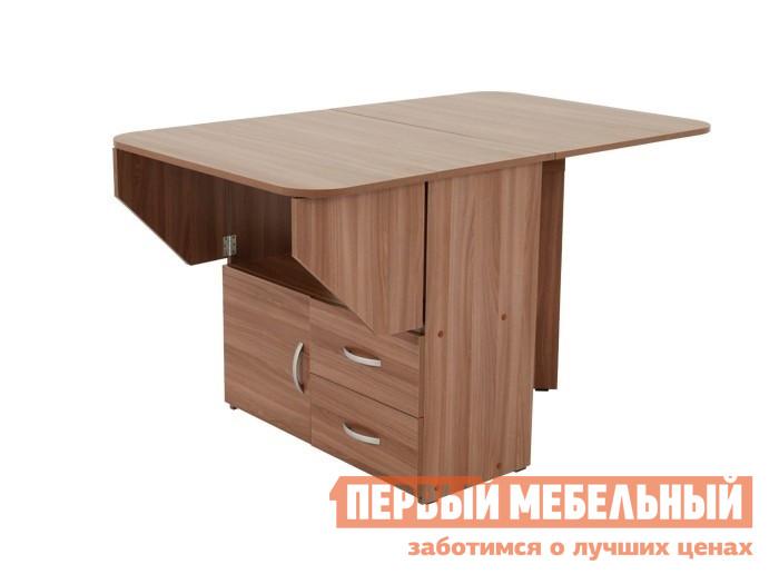 Компактный стол-книжка тумба с ящиками Мебельсон Стол-тумба (Мебельсон)