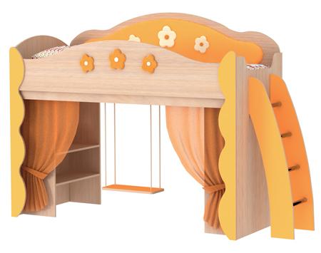 Детская кровать Цветочная фея КупиСтол.Ru 16390.000