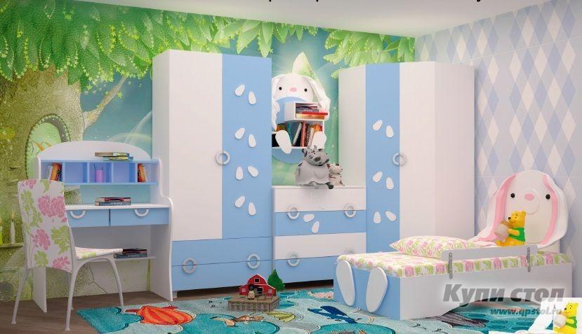 Кровать Зайка (Кровать 1.6х0.8) КупиСтол.Ru 8370.000