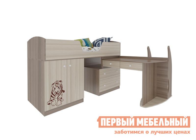 Кровать Мебельсон Тигренок