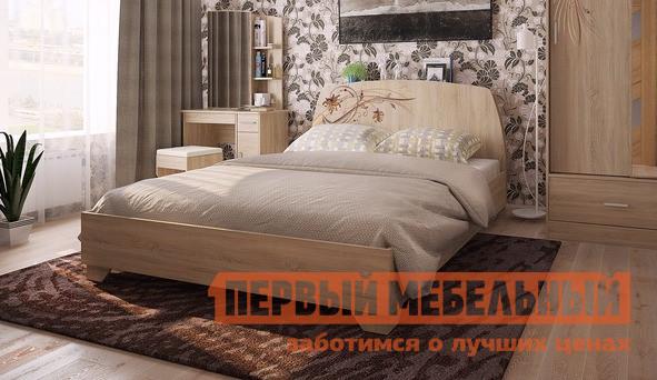 Двуспальная кровать Мебельсон Виктория-1 Кровать 1.6 спальный гарнитур мебельсон виктория 1 к1