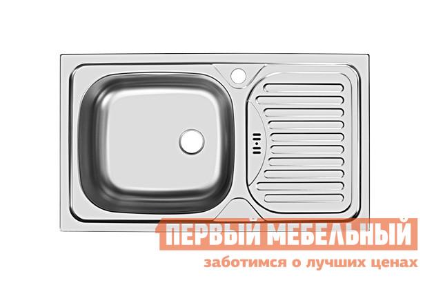 Мойка Мебельсон Мойка врезная CLM760.435-GW6K левая (Мебельсон) кухонная мойка ukinox clm 760 435 5k 1r