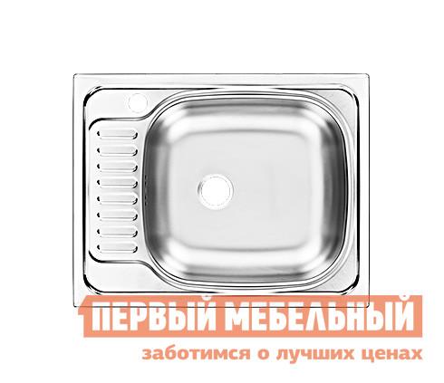 Мойка Мебельсон Мойка врезная CLM560.435-GT6K правая(Мебельсон) кухонная мойка ukinox clm 760 435 5k 1r