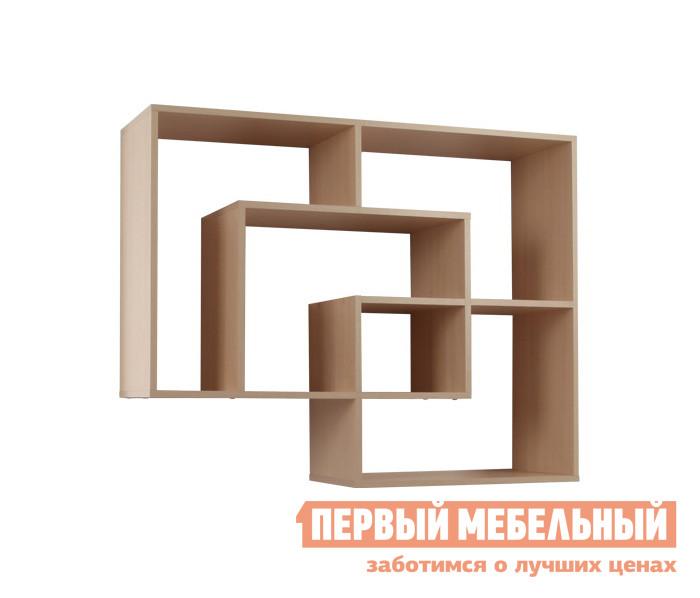 Настенная полка Мебельсон ПН-11 Дуб Млечный
