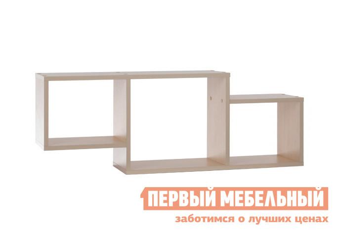 Настенная полка Мебельсон ПН-5 Дуб Млечный