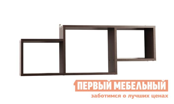 Настенная полка Мебельсон ПН-5 ВенгеНастенные полки<br>Габаритные размеры ВхШхГ 365x1000x230 мм. Настенная полка в лаконичном исполнении.  Отделения разной высоты подойдут для хранения книг и предметов интерьера. Размер левой и правой секции (размер ниши) составляет (ВхШ) 23 х 30 см.  Центральной секции (ВхШ) — 33,3 х 33,6 см. Максимальная нагрузка на полку составляет 20 кг. Изделие выполнено из ЛДСП толщиной 16 мм.  Края отделаны кромкой ПВХ 0,4 мм.<br><br>Цвет: Венге<br>Высота мм: 365<br>Ширина мм: 1000<br>Глубина мм: 230<br>Кол-во упаковок: 1<br>Форма поставки: В разобранном виде<br>Срок гарантии: 18 месяцев<br>Тип: Открытые<br>Материал: ЛДСП