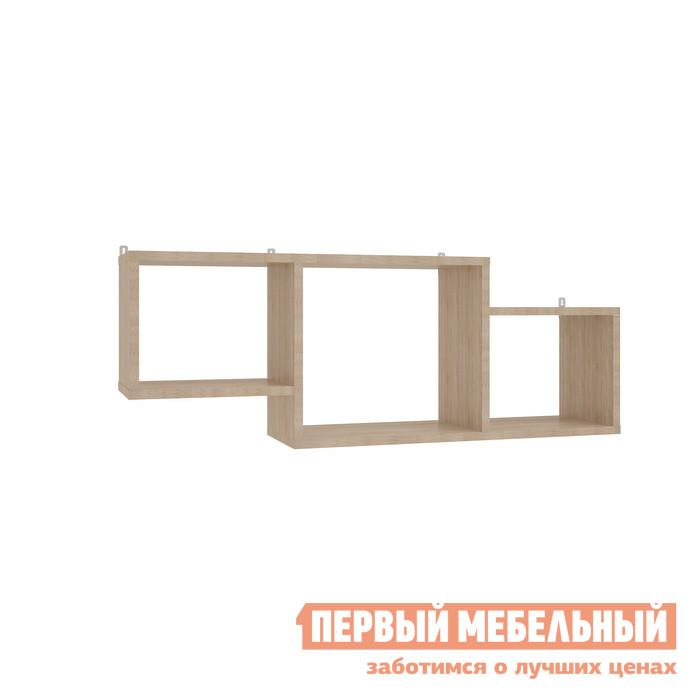Настенная полка Мебельсон ПН-5 Дуб Сонома