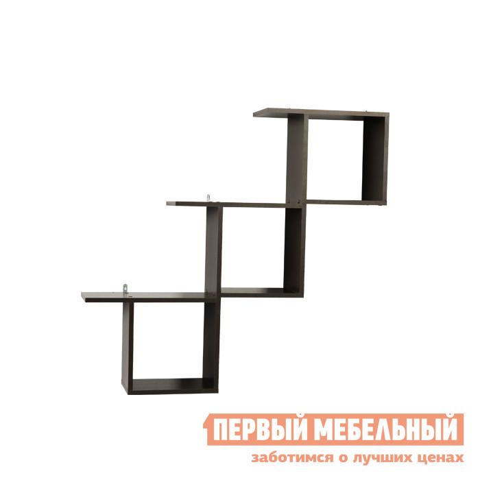 Настенная полка Мебельсон ПН-3 Венге