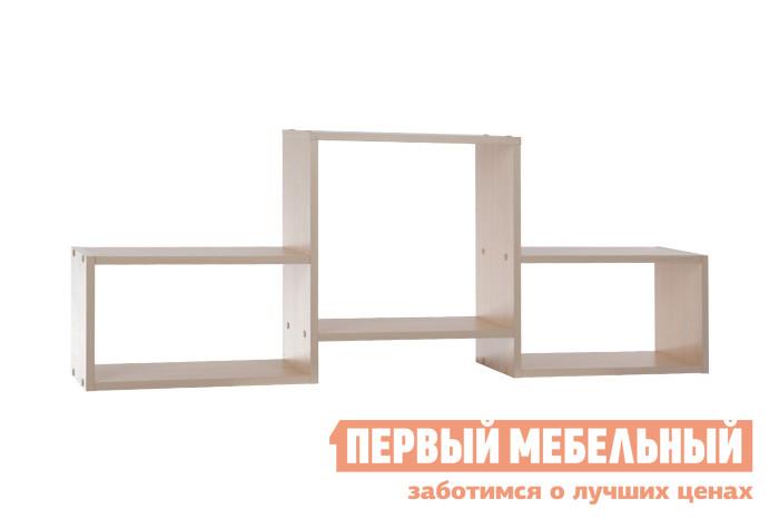 Настенная полка Мебельсон ПН-4 Дуб Млечный