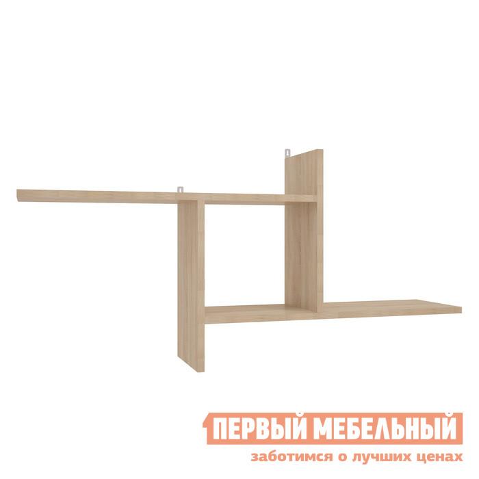 Настенная полка Мебельсон ПН-1 Дуб Сонома