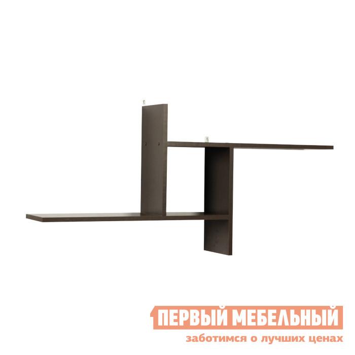 Настенная полка Мебельсон ПН-1 Венге