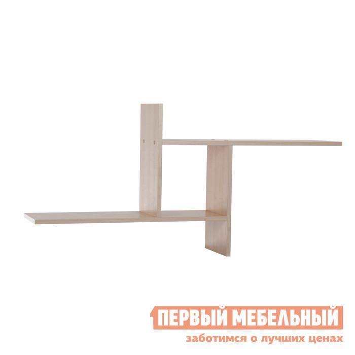 Настенная полка Мебельсон ПН-1 Дуб Млечный