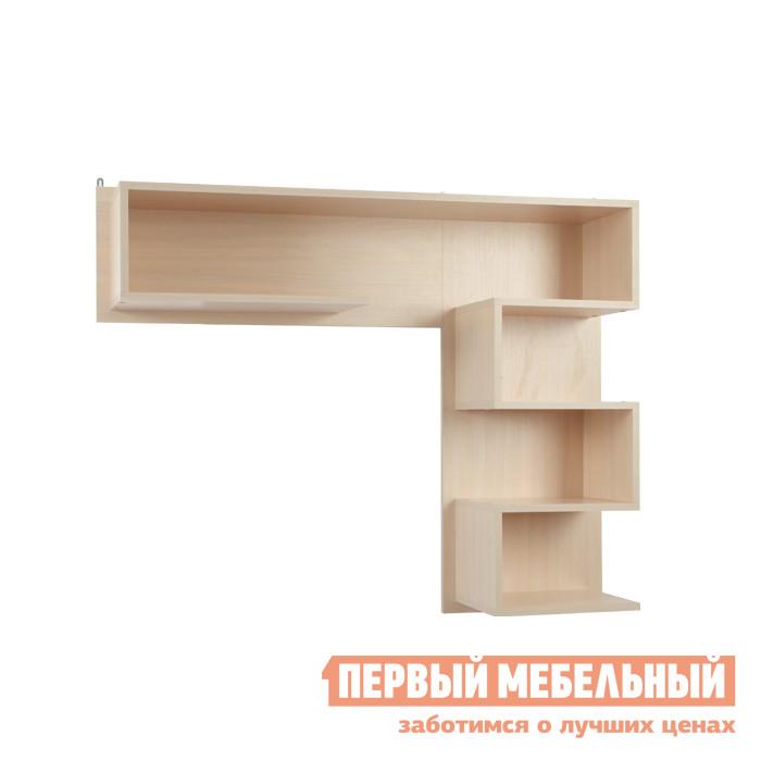 Настенная полка Мебельсон ПН-9 Дуб Млечный