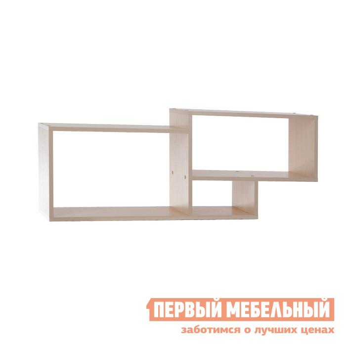 Настенная полка Мебельсон ПН-6 Дуб Млечный