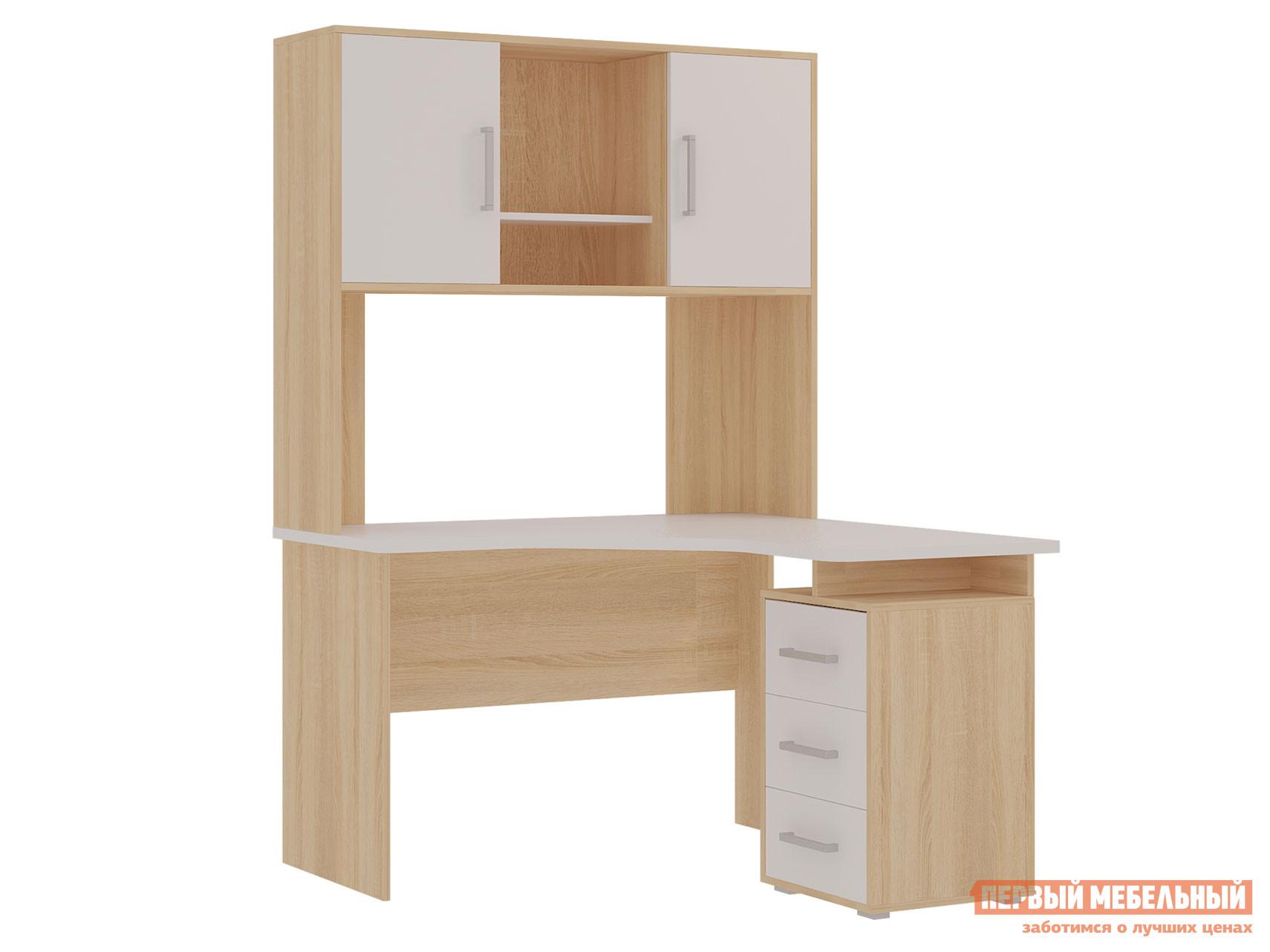 Компьютерный стол Мебельсон SKL2.2N02 + NKL02S1.2