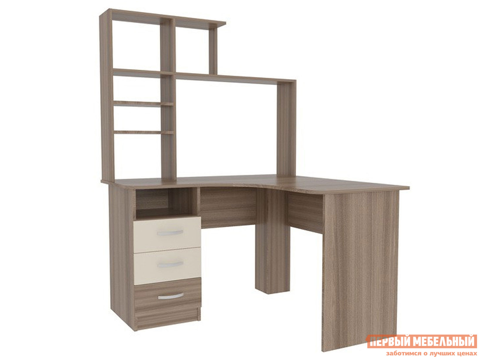 Фото - Компьютерный стол Мебельсон SK03P2.3 + PK02S2.3 компьютерный стол детский мебельсон акварель стол мма 005