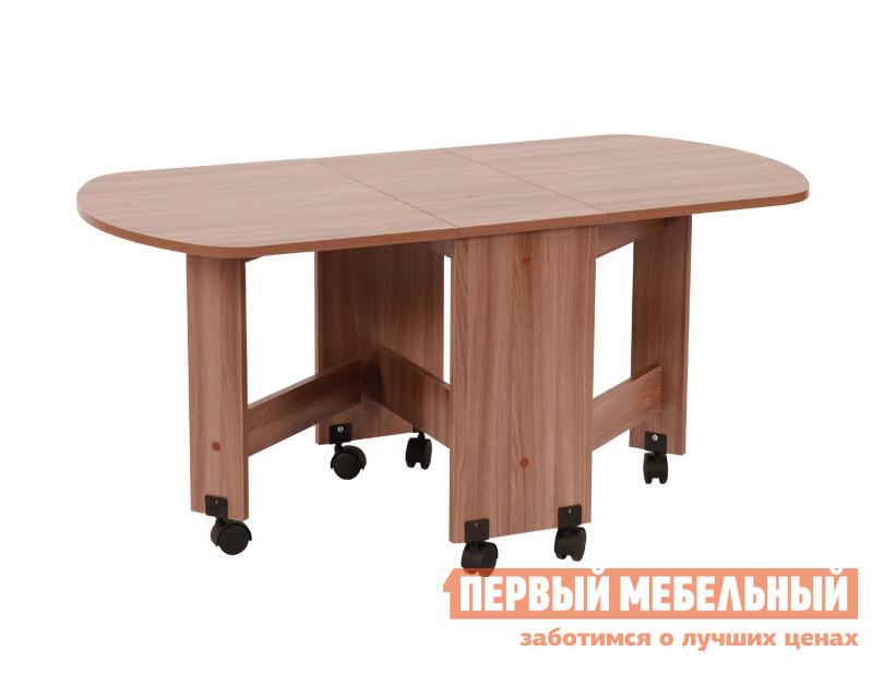 Журнальный столик Мебельсон Стол журнальный  Ясень Шимо темный