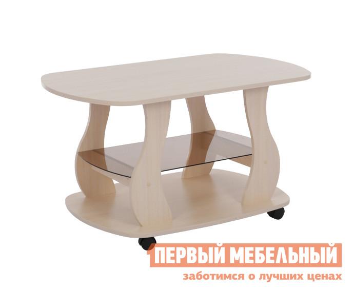 Журнальный столик Мебельсон Барон 2 Дуб Млечный
