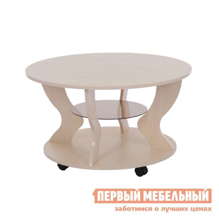 Журнальный столик Мебельсон Встреча Дуб Млечный