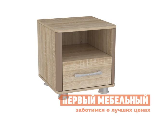Прикроватная тумбочка Мебельсон Ривьера Тумба прикроватная