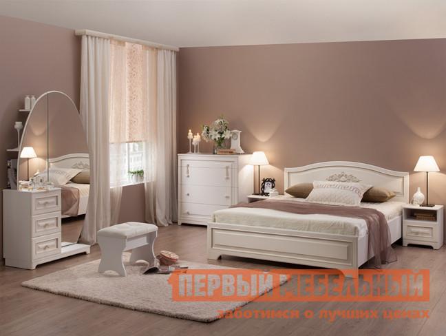 Спальный гарнитур Мебельсон Белла К1 комплект детской мебели мебельсон колледж к1