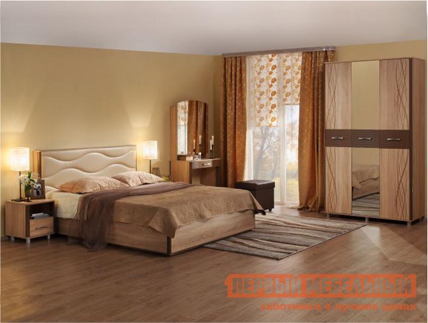 Спальный гарнитур Мебельсон Ривьера СК1 спальный гарнитур мебельсон виктория 1 к1