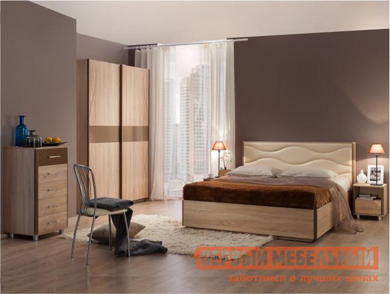 Спальный гарнитур Мебельсон Ривьера СК2 спальный гарнитур орматек этюд к1