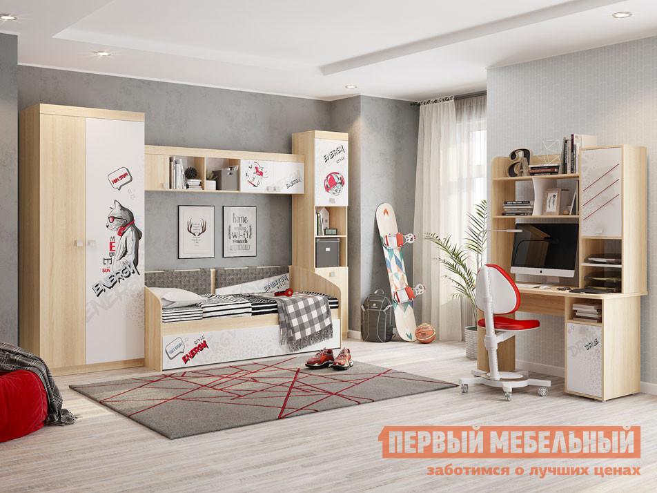 Комплект детской мебели  Энерджи К1 Дуб сонома / Белый МебельСон 104465