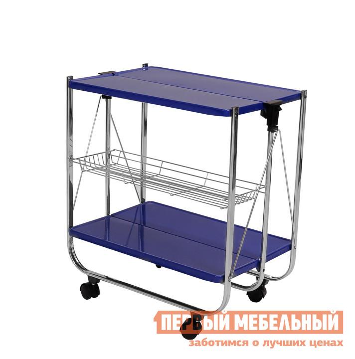 Сервировочный столик МебельТорг A1912 Синий