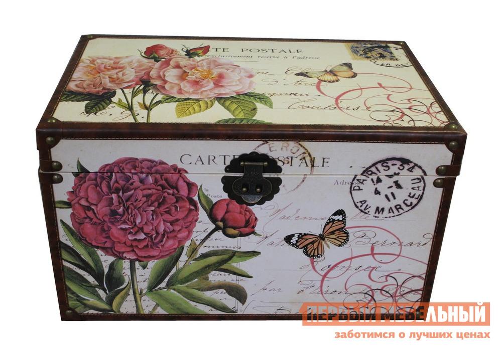 Сундук МебельТорг 2591 Розовые цветы, Средний от Купистол
