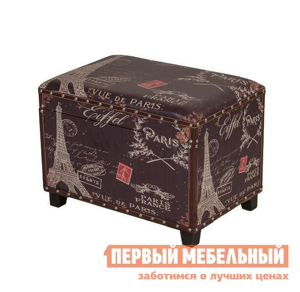 Банкетка МебельТорг 2558 L/S Малый, Коричневый, «Париж»