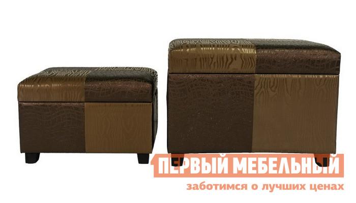 Банкетка из экокожи с ящиком для хранения МебельТорг 2553