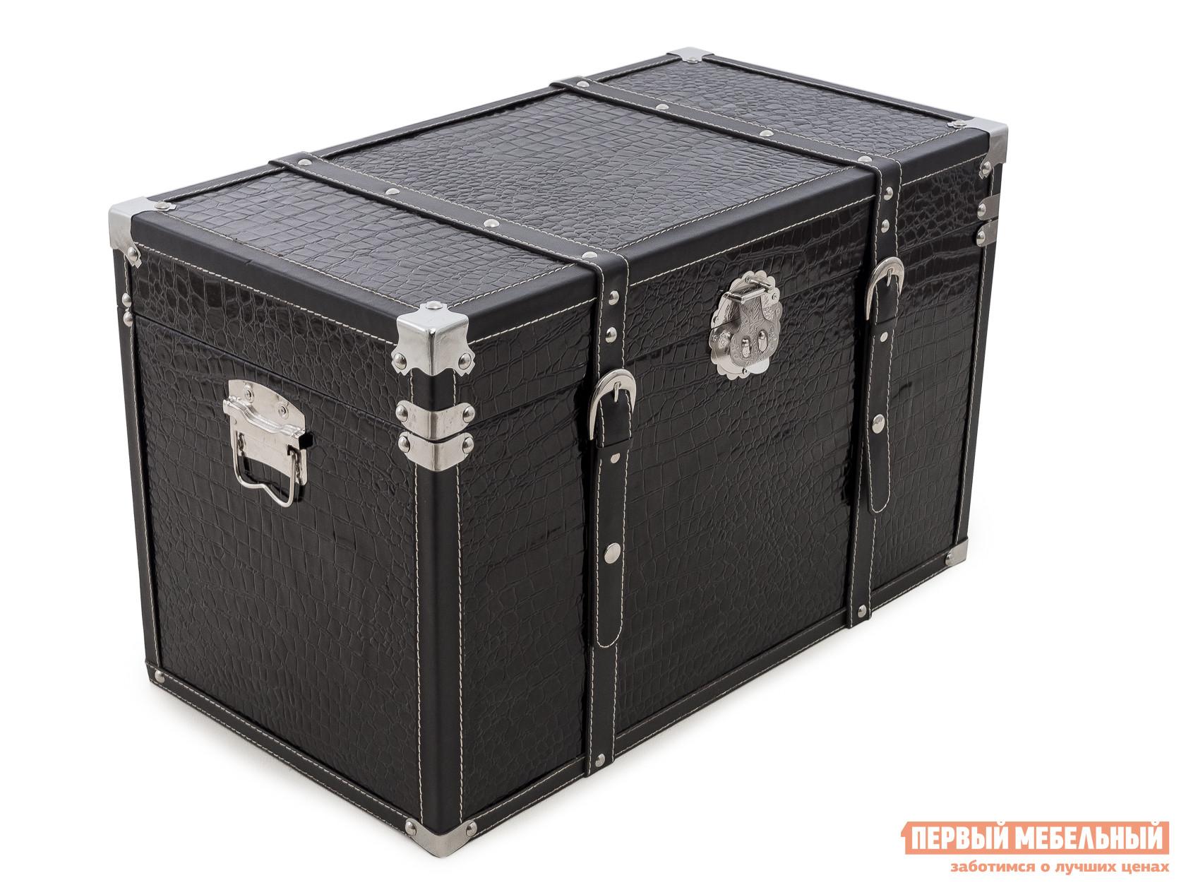 Банкетка МебельТорг 2557 L/M/S Черный, Средний