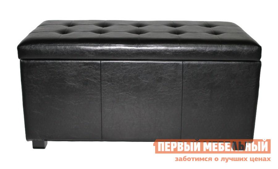 Банкетка из экокожи с ящиком для хранения МебельТорг 2552
