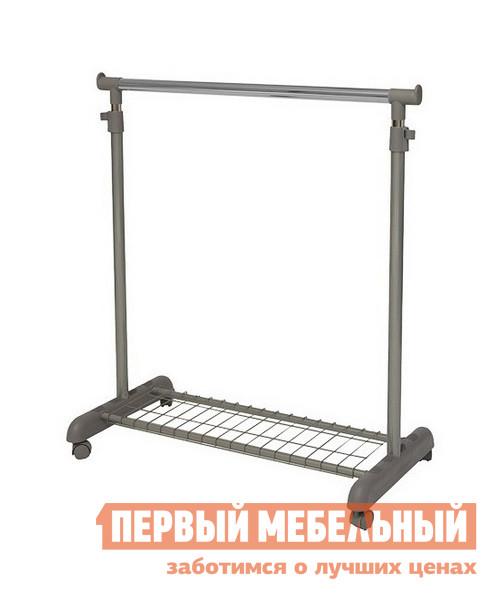 Напольная вешалка МебельТорг A1914 Серый металл / Серый пластик