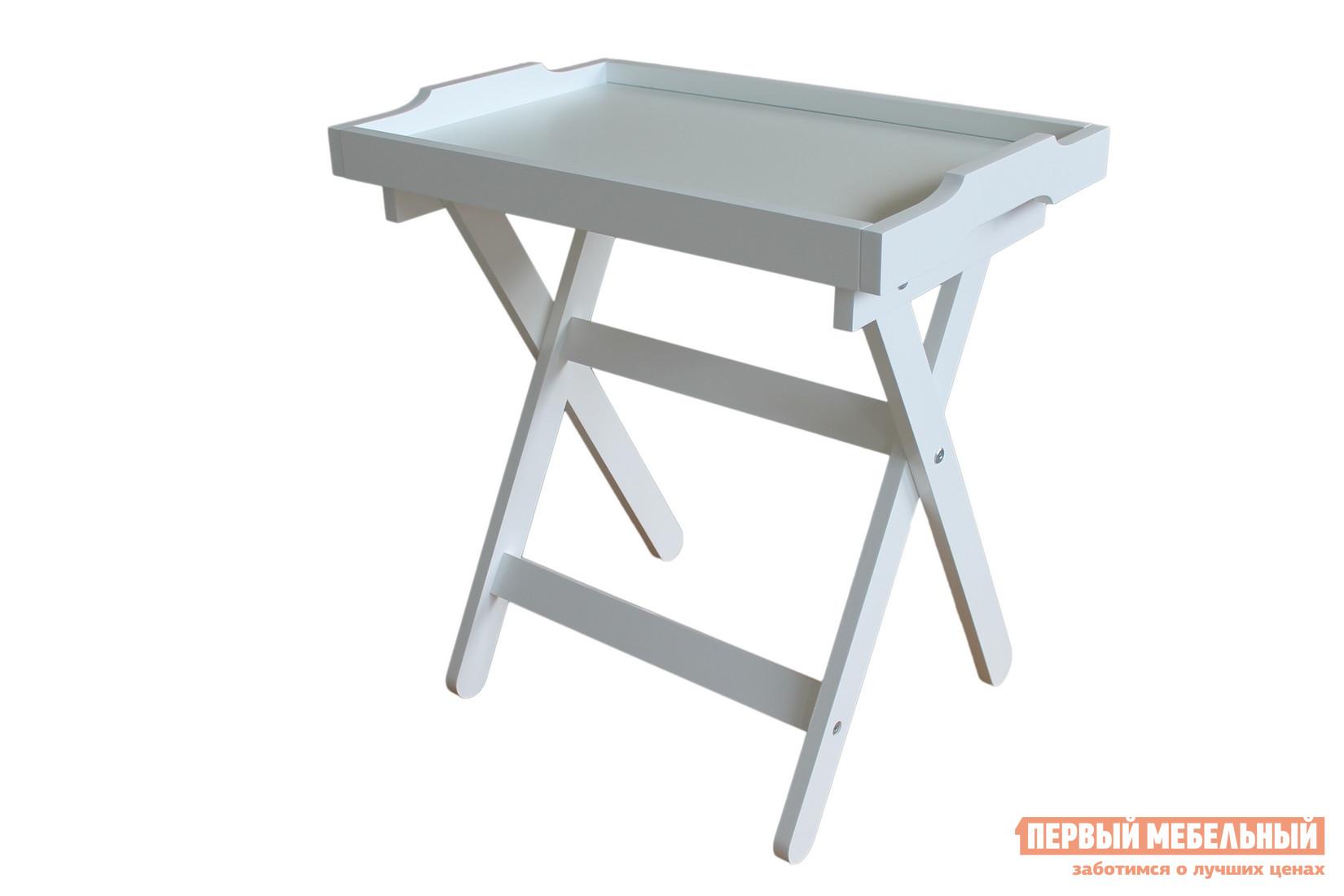 Журнальный столик МебельТорг Лотос Молочный дуб